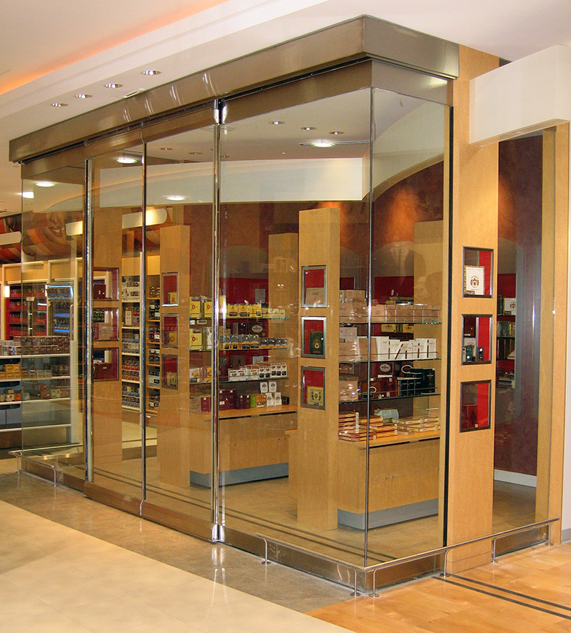 Elegant Bi-Parting Automatic Sliding Door
