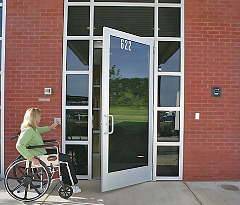 Handicapped Door Amp Simple Handicap Bathroom Design Doors